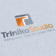 Triniko Studio Logo Template - GraphicRiver Item for Sale