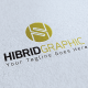 Hibrid Graphic Logo Template - GraphicRiver Item for Sale