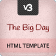 The Big Day - Responsive One-Page Wedding Template - ThemeForest Item for Sale