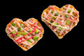Heart pizza - PhotoDune Item for Sale