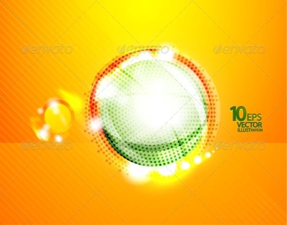 GraphicRiver Hi-Tech Shiny Techno Bubble Background 4097191