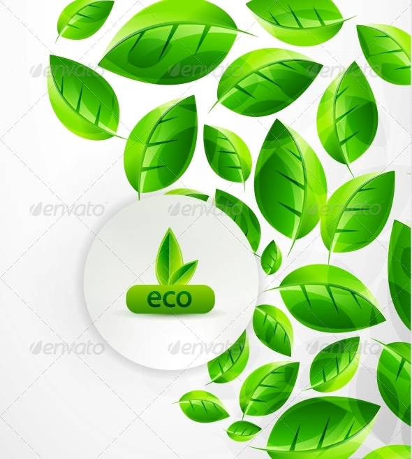 GraphicRiver Green Nature Background 4097204