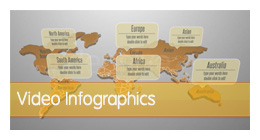 video infographics collection