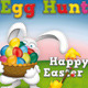 Easter Party Posters and Flyer - Egg Hunt - GraphicRiver Item for Sale