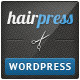 Hairpress - WordPress Theme for Hair Salons - ThemeForest Item for Sale