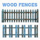 Old Wood Fences  - GraphicRiver Item for Sale