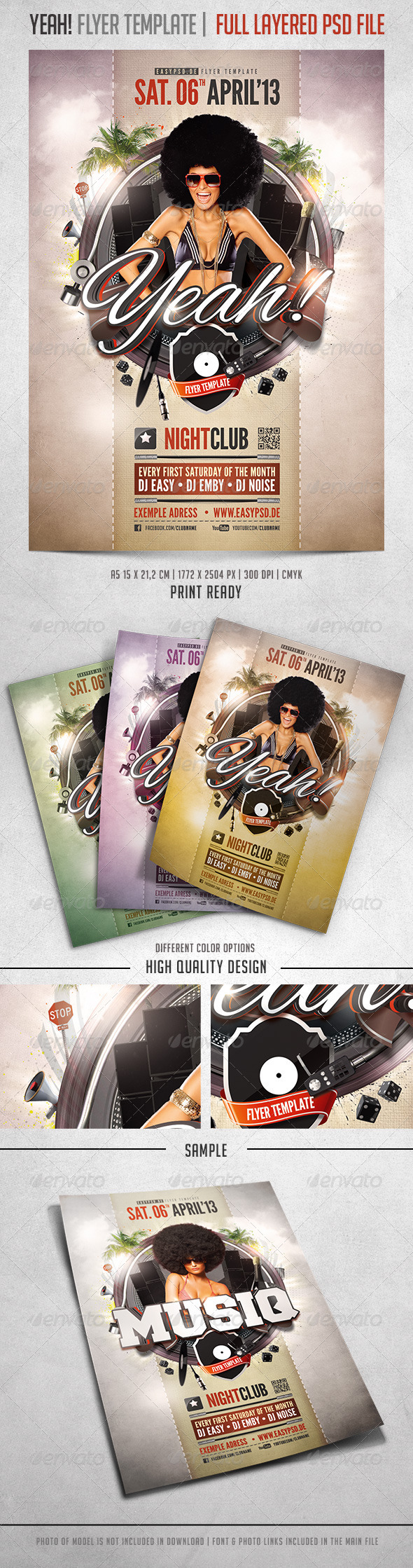 GraphicRiver Yeah Flyer Template 4099701