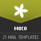 MOCO – 21 modular newsletter templates - ThemeForest Item for Sale