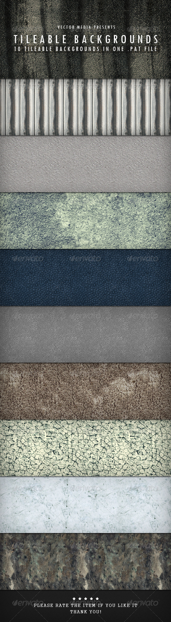 GraphicRiver Tileable Backgrounds 4101639