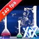 Laboratory Glassware 240fps - VideoHive Item for Sale