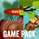 10 Flash Games Pack - ActiveDen Item for Sale