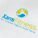 Xans Fitness Logo - GraphicRiver Item for Sale