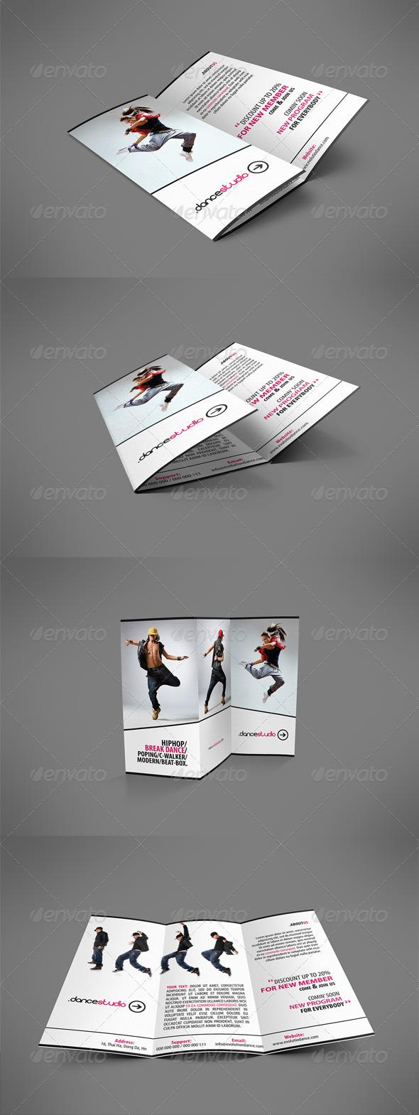GraphicRiver Street Art Brochure Tri-fold 3985149