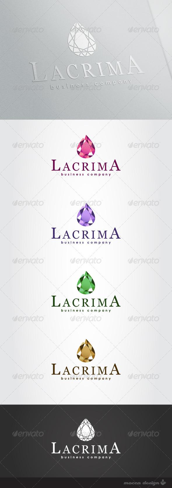 GraphicRiver Lacrima Logo 4105203