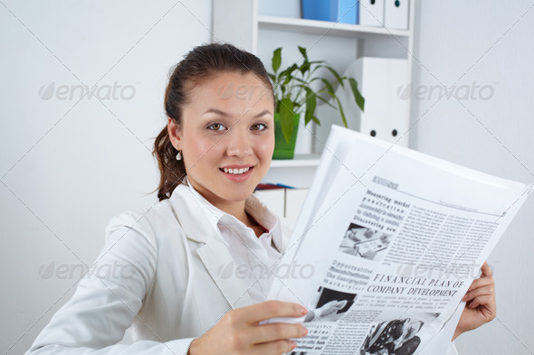 Fresh news - Stock Photo - Images