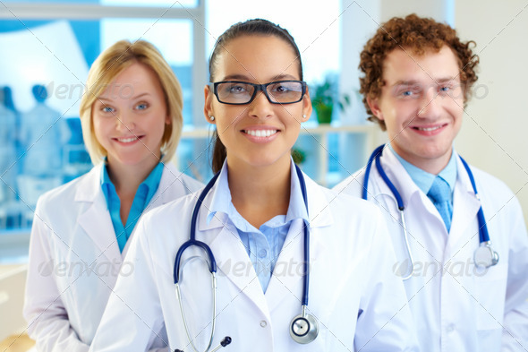 Pretty clinician - Stock Photo - Images