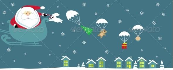 GraphicRiver Santa 4108105
