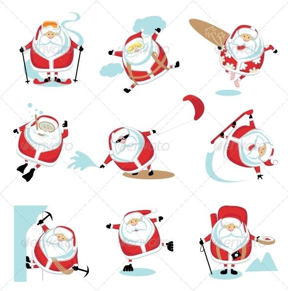 GraphicRiver Extreme Santa 4108204