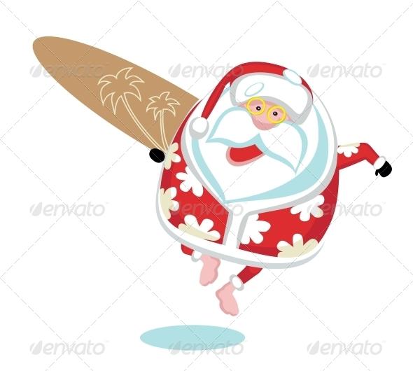 GraphicRiver Extreme Santa 4108239