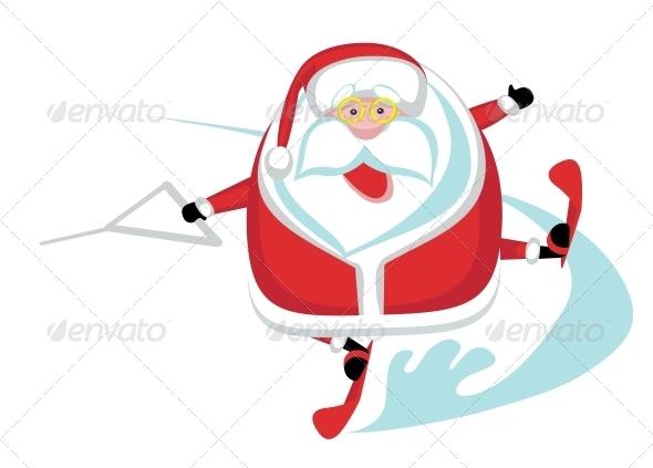GraphicRiver Extreme Santa 4108240