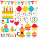 Birthday Party Set - GraphicRiver Item for Sale
