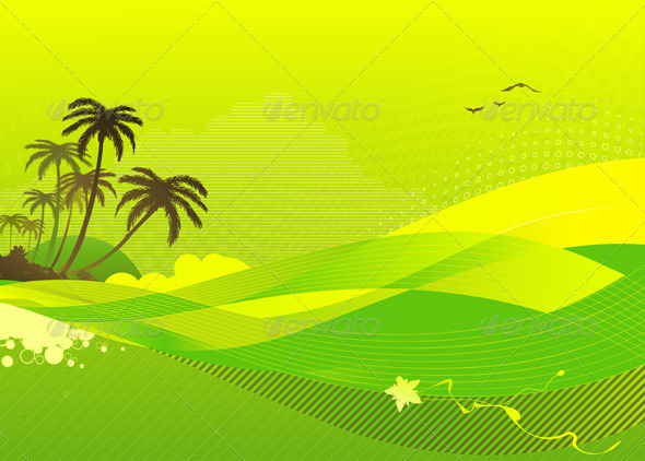 GraphicRiver Summer Concept 4112232