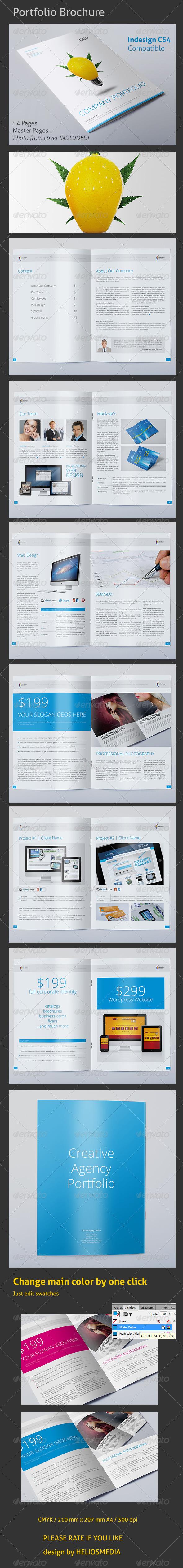 GraphicRiver Creative Agency Portfolio 3994533