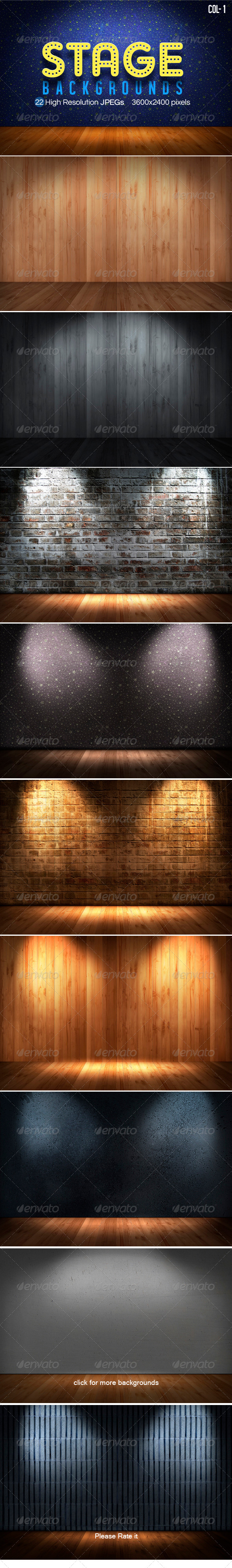 GraphicRiver Stage Backgrounds Col1 4112741