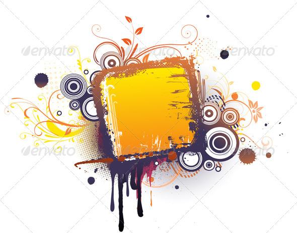 GraphicRiver Urban Grunge Frame 4112763