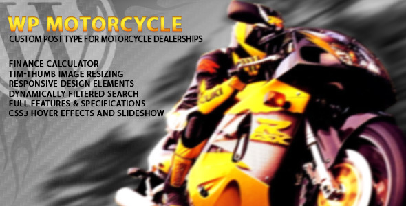 CodeCanyon Atomic Motorcycle 4113949