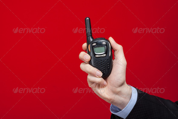 Walkie Talkie - Stock Photo - Images