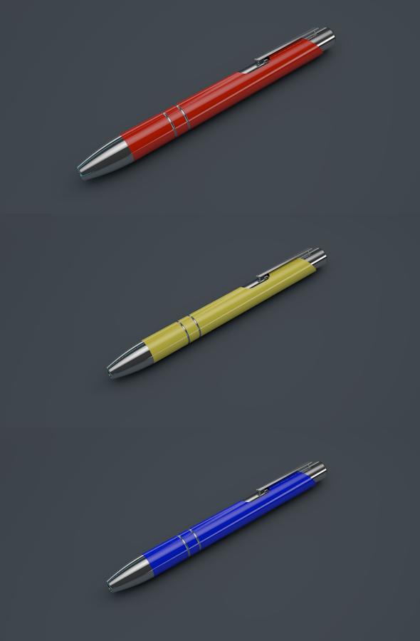 3DOcean Modern Stylistic Pen 4115169