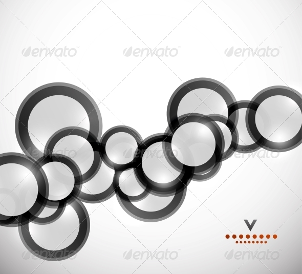 GraphicRiver Geometrical Circles Abstract Design Template 4116255