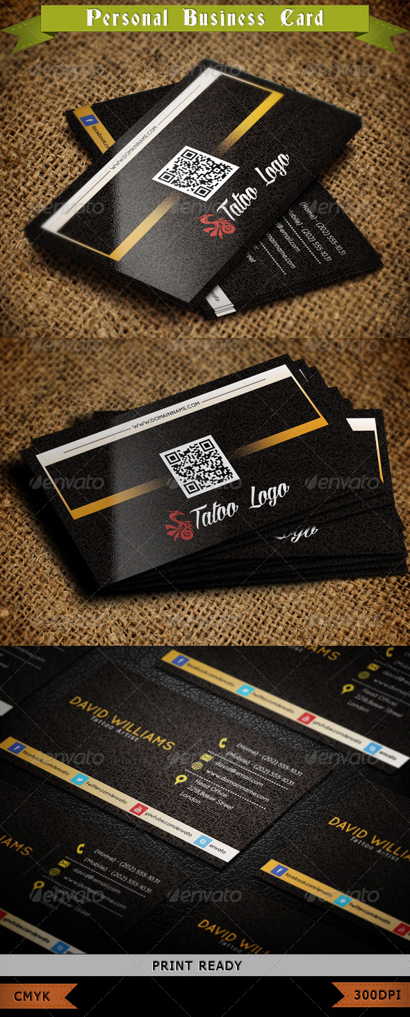 GraphicRiver Corporate Business Card 007 3990431