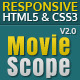 MovieScope -HTML5 &amp;amp; CSS3 Portal Template - ThemeForest Item for Sale