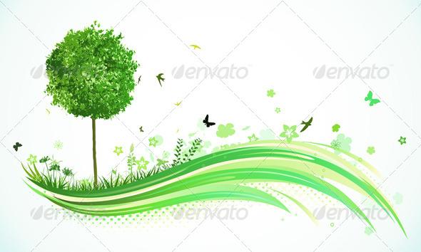 GraphicRiver Eco Concept 4117721