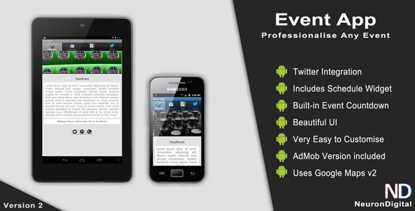 Event App - CodeCanyon Item for Sale