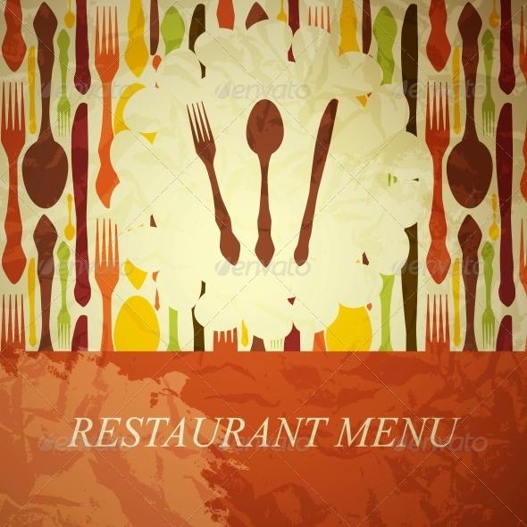 GraphicRiver The Concept of Restaurant Menu 4119886