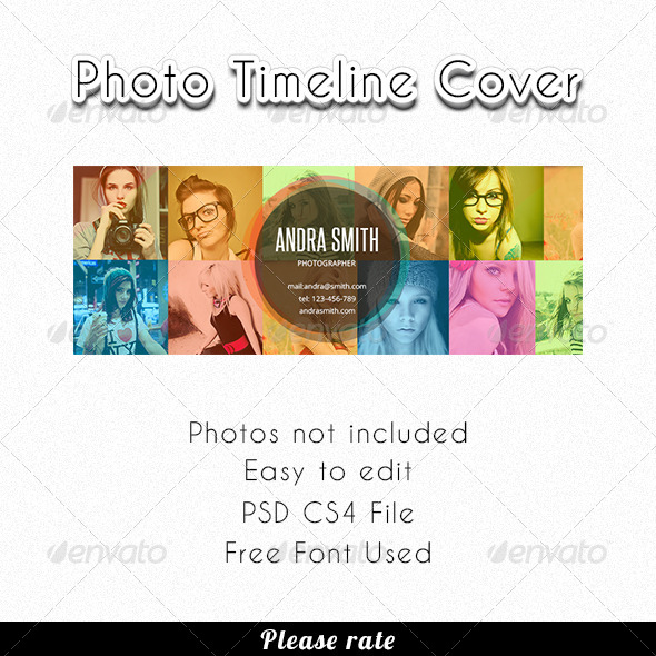 GraphicRiver FB Photo Timeline Cover 4054413