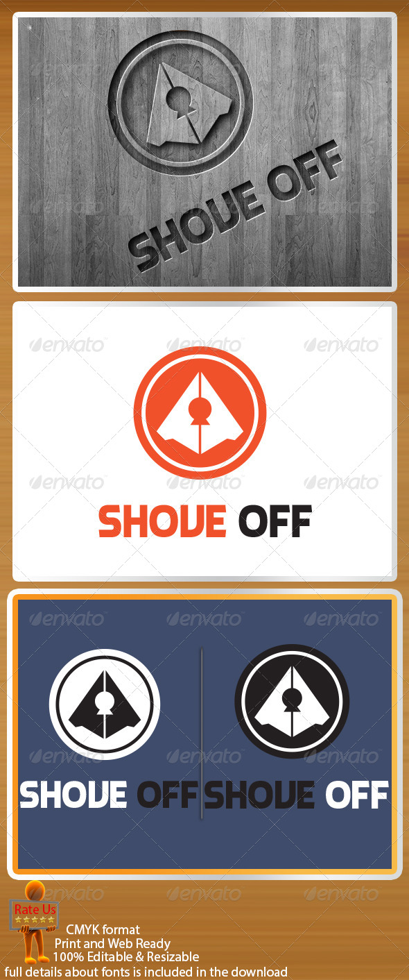 GraphicRiver Shove Off Logo Template 4121005