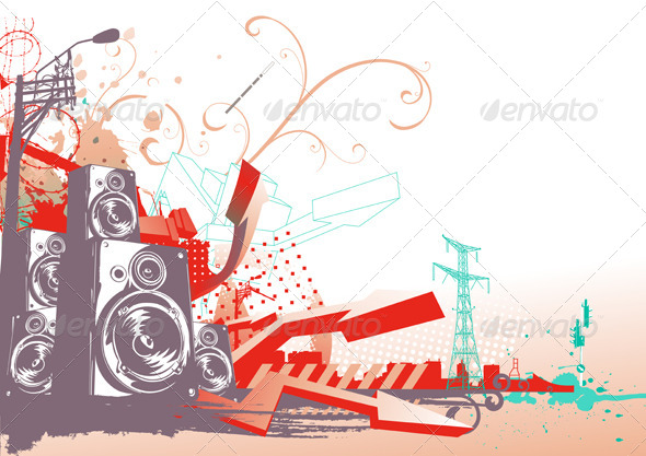 GraphicRiver Urban Background 4121421