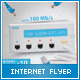 Wireless Internet Provider Flyer - GraphicRiver Item for Sale