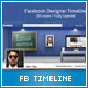 FB Designer Room Timeline  - GraphicRiver Item for Sale