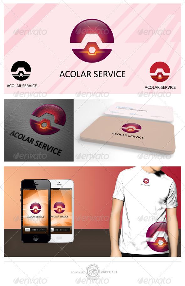 GraphicRiver Acolar Service Logo 4038179