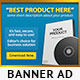 Product Banners Ad PSD Template - GraphicRiver Item for Sale