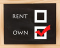 Rent Or Own Chalkboard - PhotoDune Item for Sale