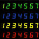Digital Display Numbers - Set I - GraphicRiver Item for Sale