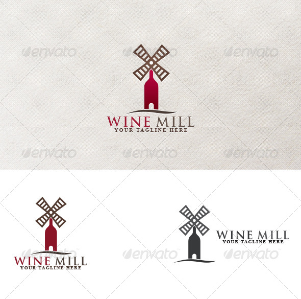 GraphicRiver Wine Mill 4058429