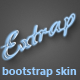 Extrap - Bootstrap Skin - CodeCanyon Item for Sale