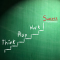 success concept writing on blackboard - PhotoDune Item for Sale